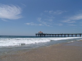 Pier into the Pacific