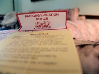 Parking Violation Notice
