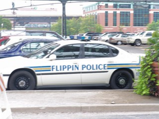 Flippin Police patrol car