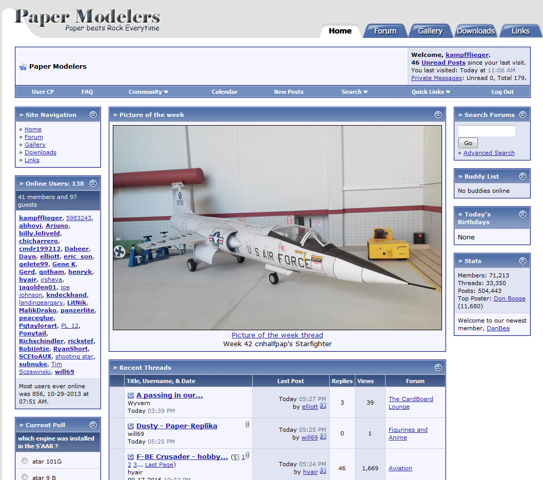 papermodelers