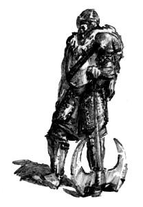 Наемник в шлеме