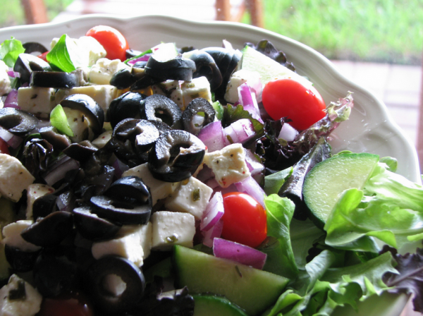 Хоритиаки, греческий салат