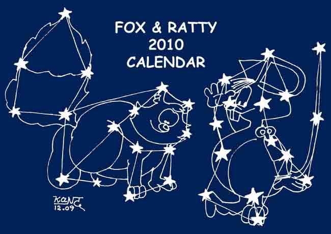 2010 F&R Calendar cover