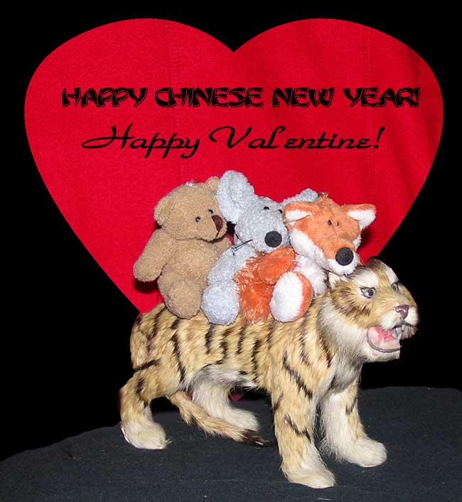 Happy Valentine & Happy Chinese New Year
