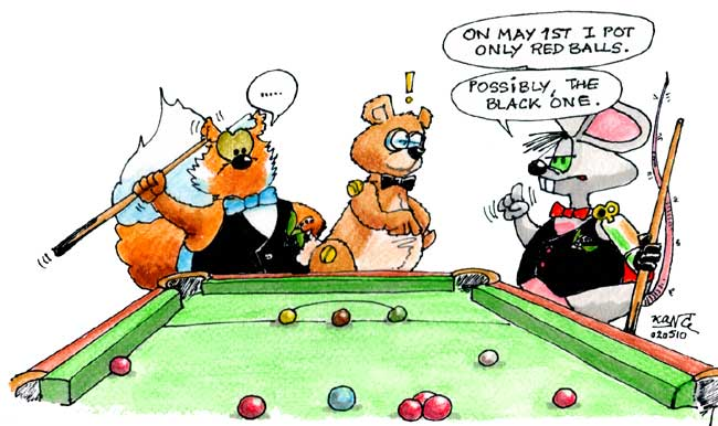 Snooker, May 1st