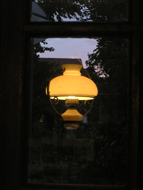 La lampe du soir