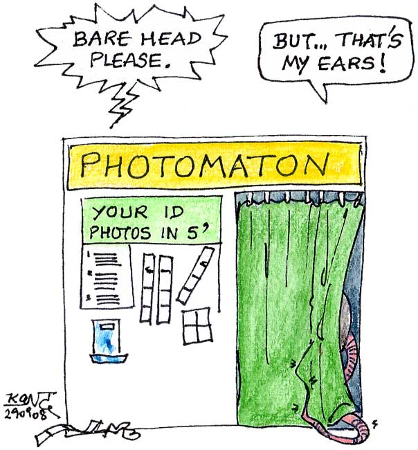 Photomaton & biometrics