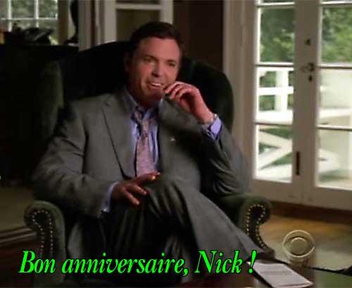 Bon anniversaire Nick Lea