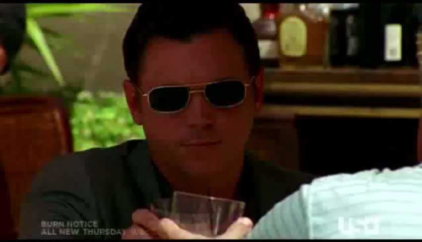 Nick Lea in Burn Notice