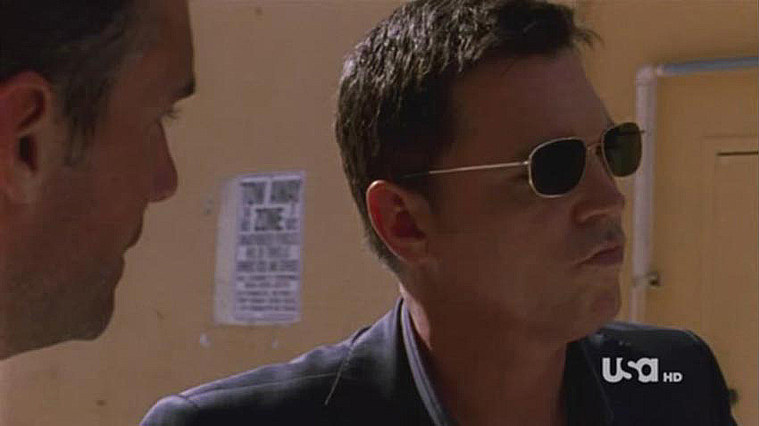 Nick Lea in Burn Notice 107