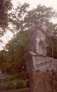 Victor Hugo Statue in Candie Gardens