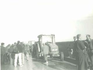 Unloading in Sark