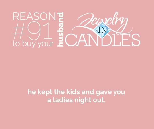 Reason91ToBuyYourHusbandACandle