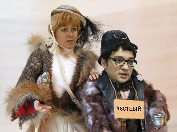 Владимир Притула и Валентина Самар