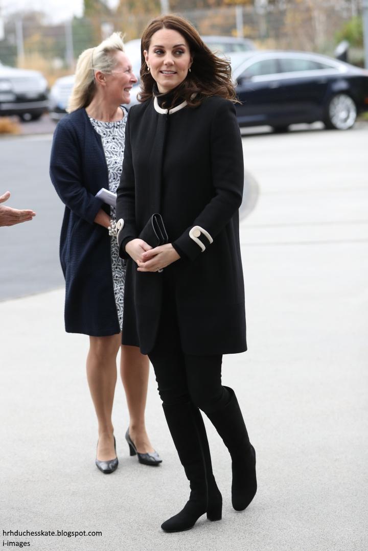 Герцог и герцогиня Кембриджские посетили Бирмингем
