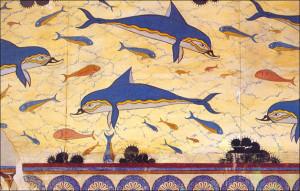 Фрекса с дельфинами