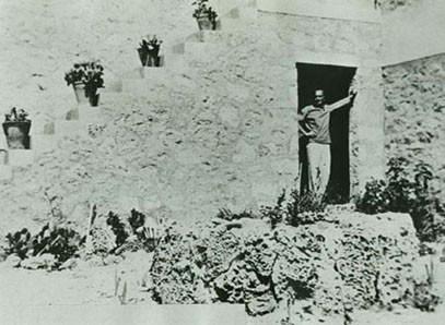 Казандзакис на Эгине, 1937-й год