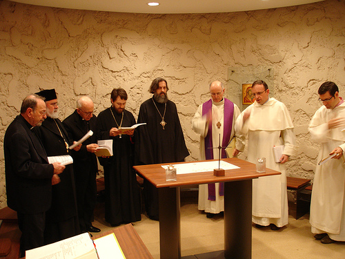 Ilarion alfeev - molitva s katolikami