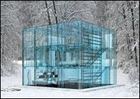 Стеклянный домик для свободных людей