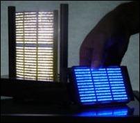 Осветительные пластины из крошечных светодиодов