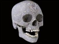 Бесценный череп Херста выставят в галерее