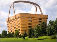 Здание в виде корзины