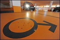 Мужские парковочные места появились в Германии