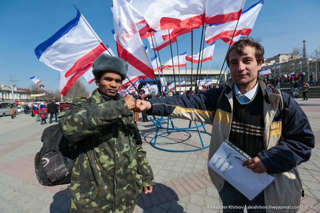 Афро-Лато-русского Беню-антиМайдан выдворят из Украины