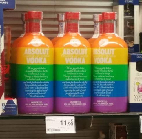 Водка для геев или новый виток толерантности