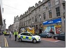 В неловкую ситуацию попала одна влюблённая парочка в шотландском городе Абердин