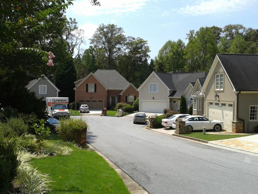 Поселок среднего уровня. Америка.