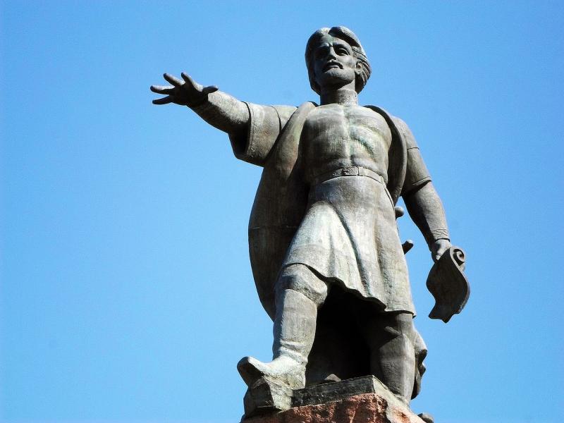 Памятник основателю Красноярска, Андрею Дубенскому