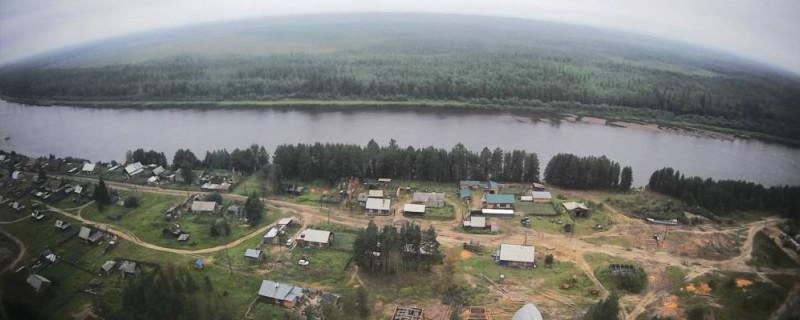 Село Келлог, где живёт больше всего кетов