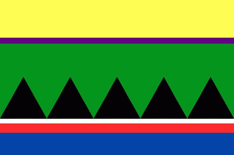 Национальный флаг селькупов