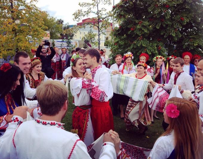 Свадебный обряд украинцев, Тюменская область