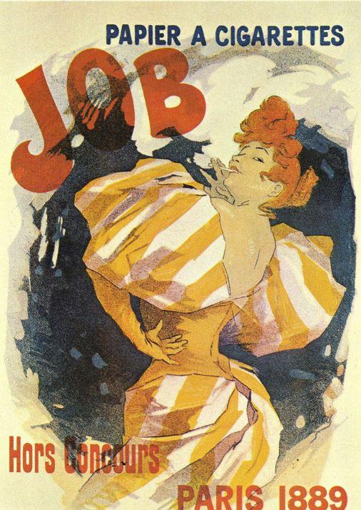 плакат ретро франция разведка право ношение