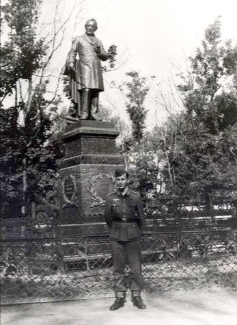 Памятник М.И. Глинке в Смоленске