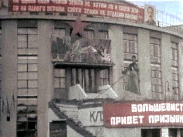 Клуб завода Каучук архитектор К.С. Мельников (2)