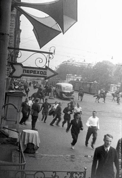 Бомбежка Ленинграда 24 июня 1941 года  Фото  Г. Чертова