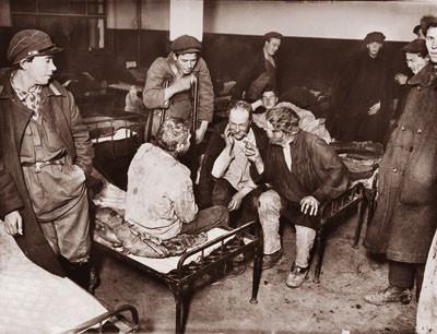 Новая ночлежка в Москве  1931