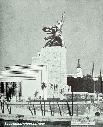 Советский павильон на всемирной выставке 1937 года