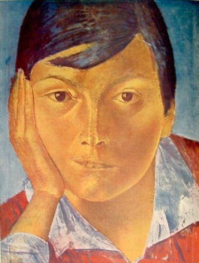 Петров-Водкин Портрет 1920-е