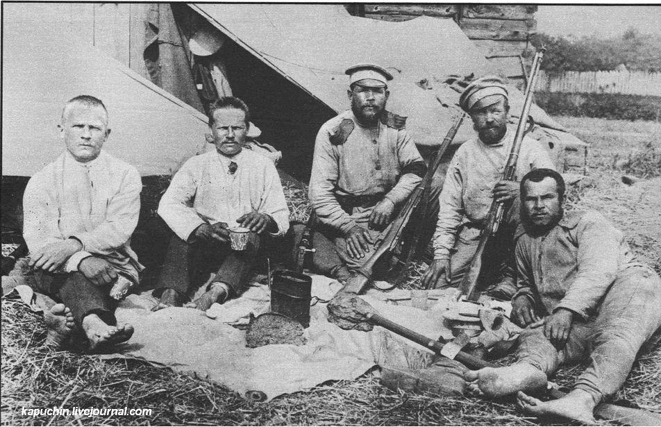 Солдаты 9-ого Сбирского гренадерского полка
