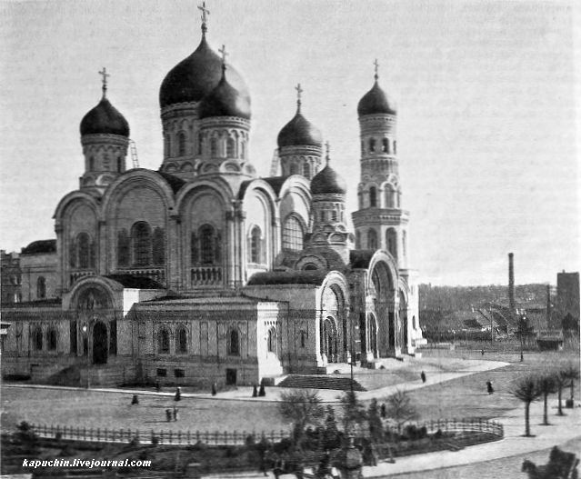 Собор Александра Невского в Варшаве