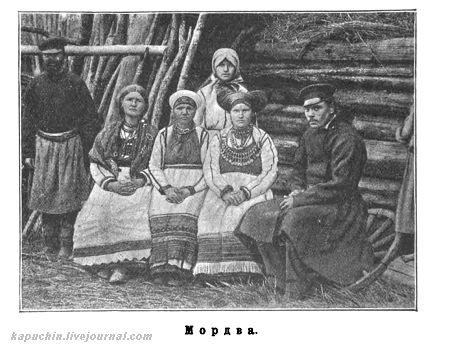 Мордва, фото  1900-х годов