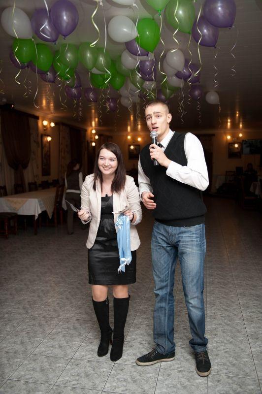 Фотография со свадьбы, ведущий Алексей Громыко с сайта treda.ru  2