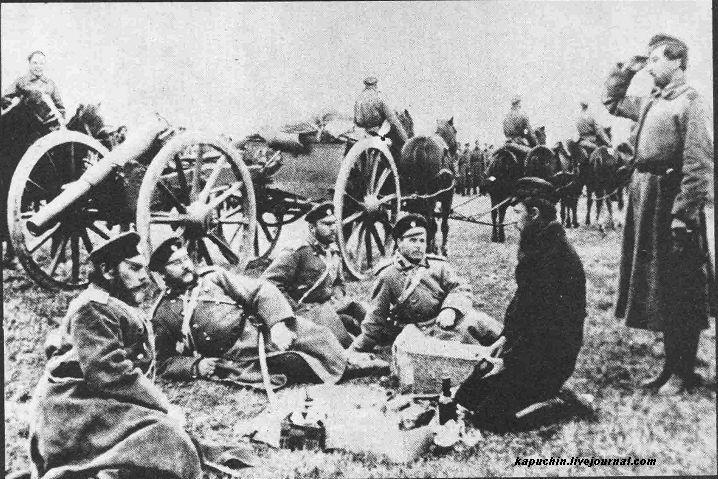 38-й драгунский Драгунский полк на учениях под Можайском 1885 год  1