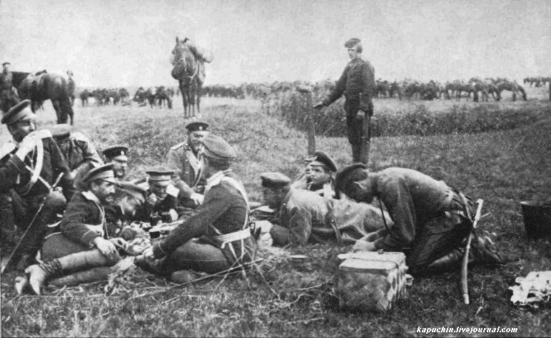 Драгунский полк на учениях под Можайском 1885 год  4