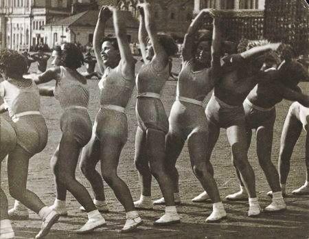 Родченко Волна. Ритмическая гимнастика 1936 год
