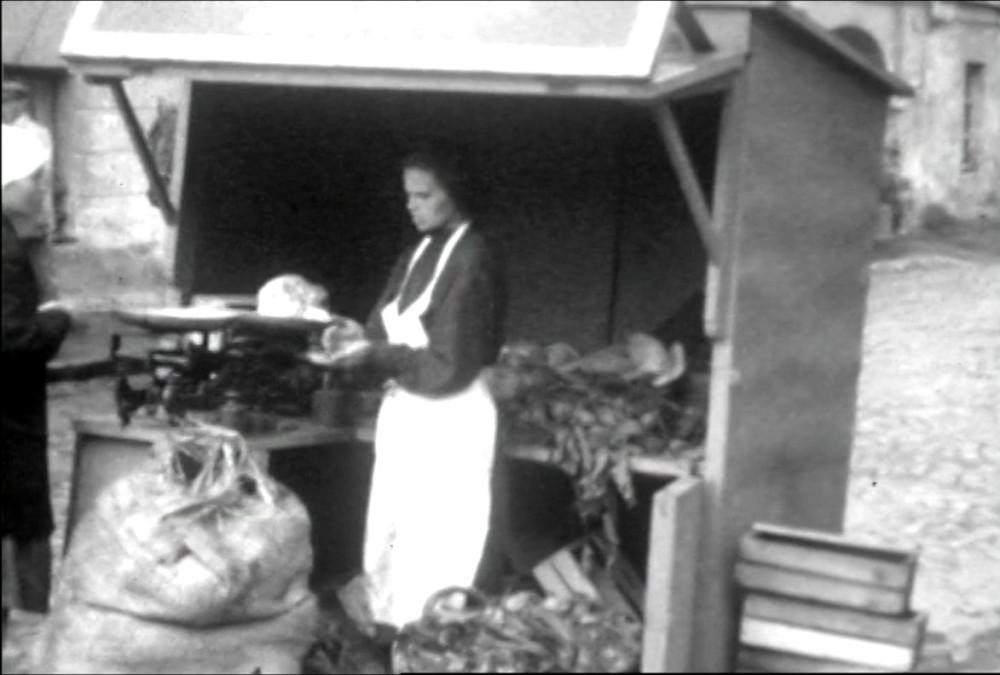 Овощная палатка 1931 год